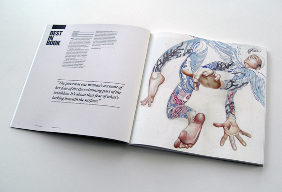 Best in book Creative review illustration annual 2011