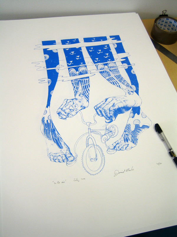 Artcrank screenprint