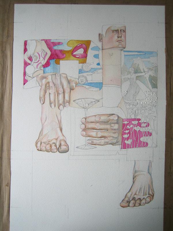 Palyboy illustration in progress