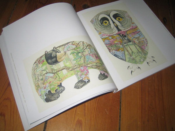 illustrations by Daniel Mackie in rooms magazine