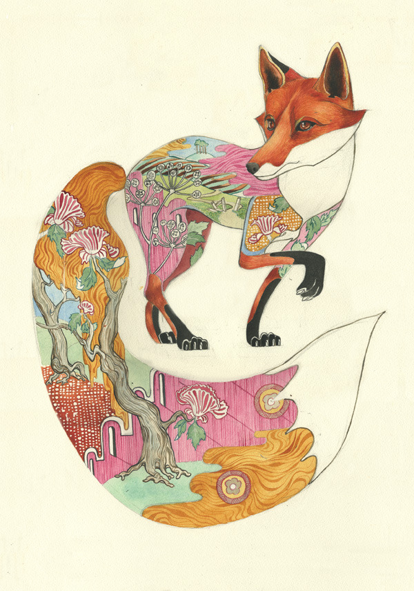 fox print The DM Collection- Daniel Mackie