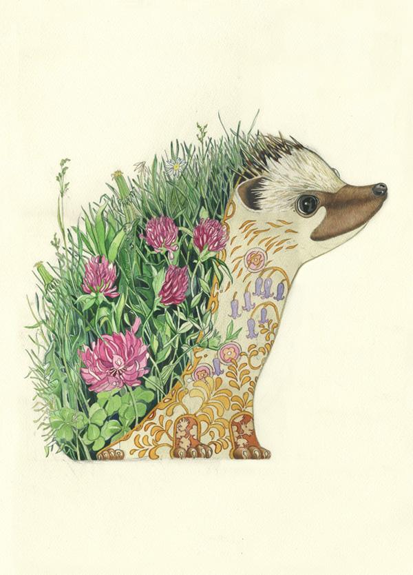 The Hedgehog S Dilemma Artist Daniel Mackie Artist Behind The Dm Collection